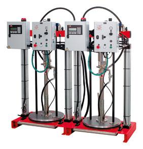 SILCO MIX V200 - sterowane elektronicznie urządzenia dozująco-mieszające