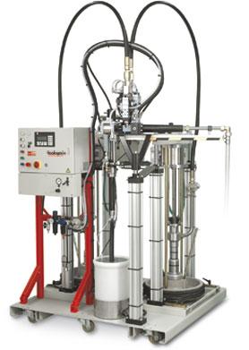 toolingmix V200 - kompaktowe sterowane elektronicznie urzadzenie dozująco mieszające